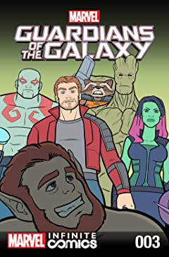 Guardians of the Galaxy: Awesome Mix Infinite Comic (2016-2017) #3