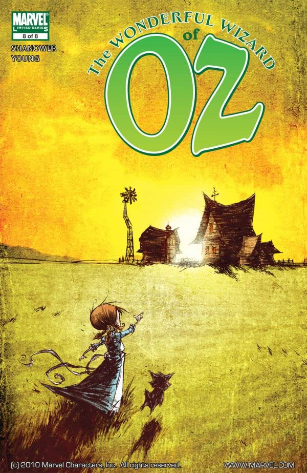 The Wonderful Wizard of Oz #8 (of 8)