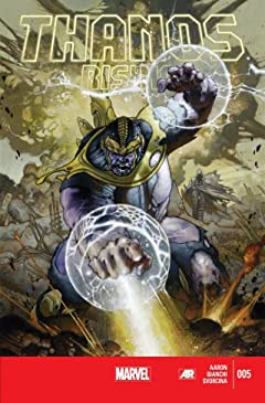 Thanos Rising No.5 (sur 5)