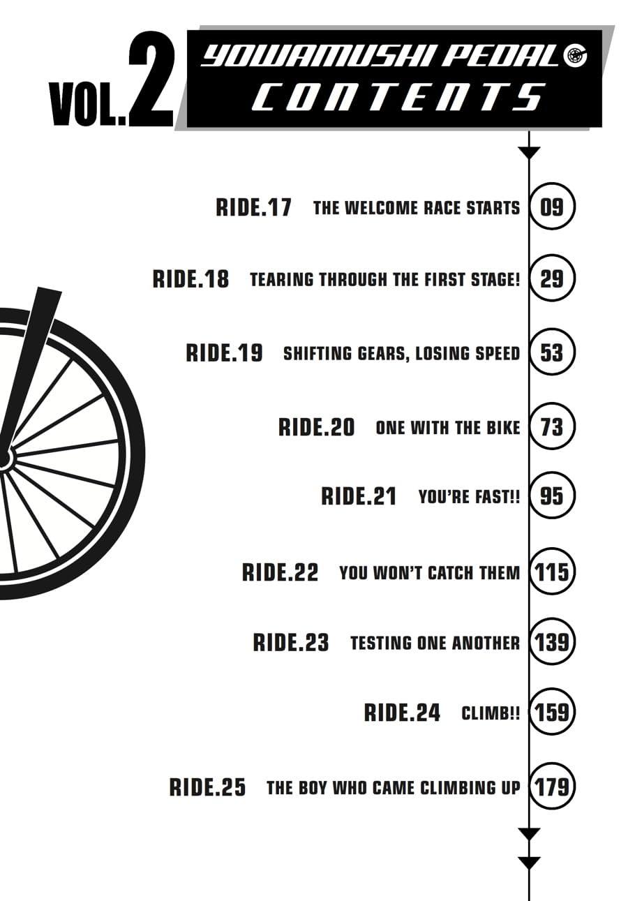 Yowamushi Pedal Vol. 2