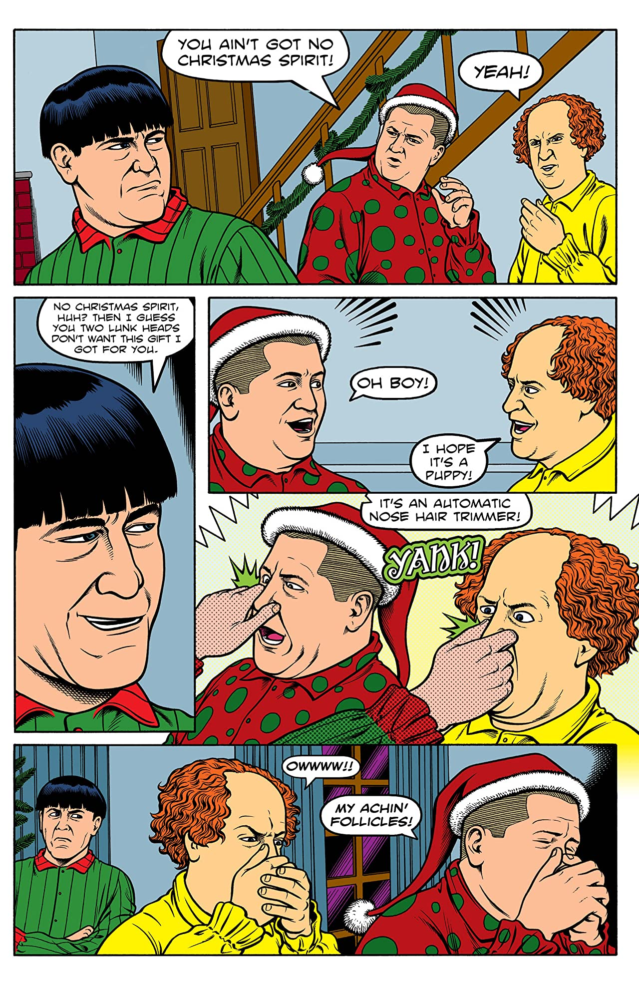 The Three Stooges: Merry Stoogemas #1