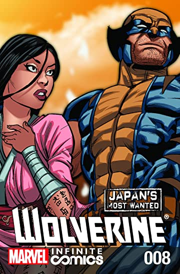 Wolverine: Japan's Most Wanted Infinite Comic No.8