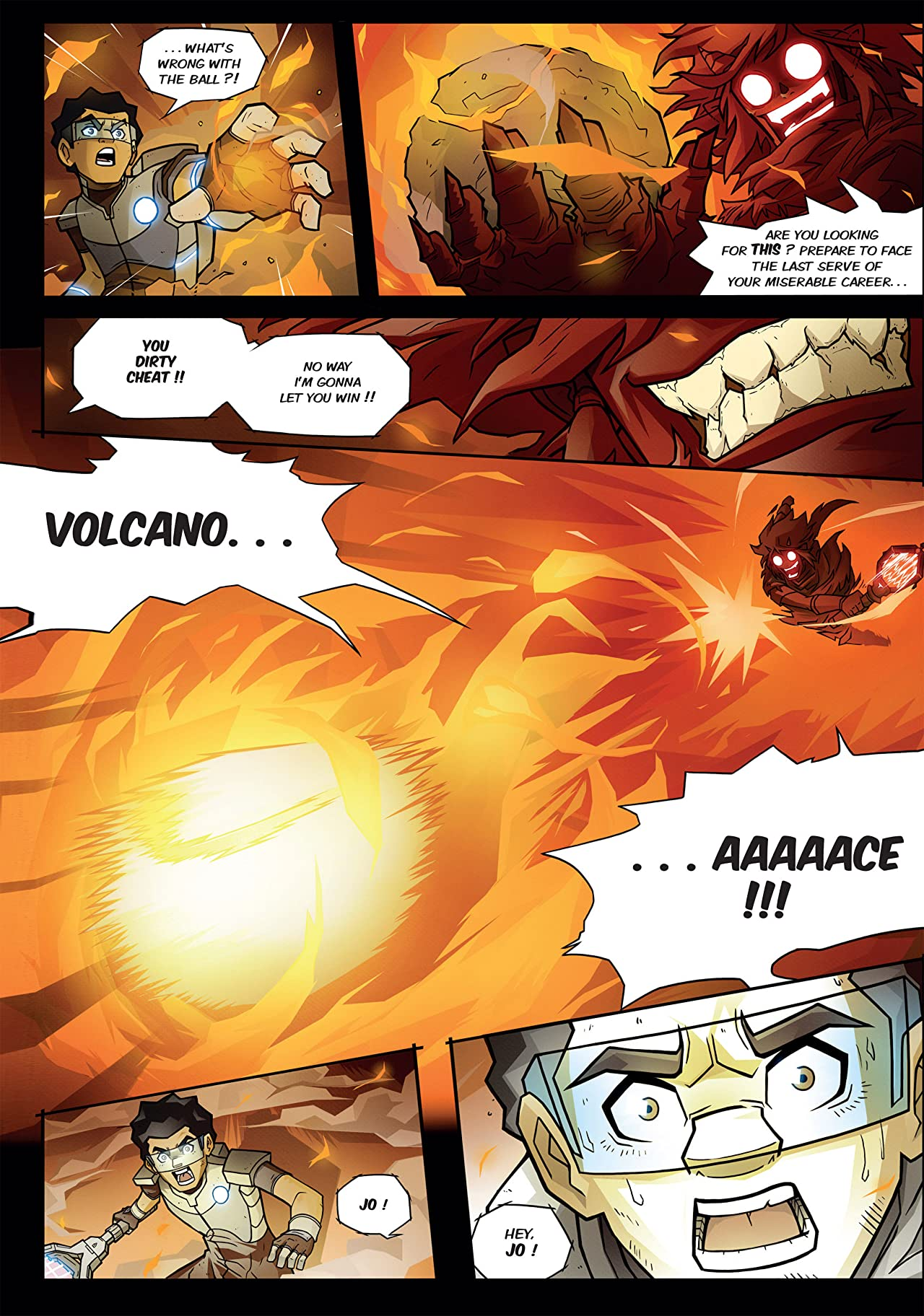 Turboten No.1: The Volcano Ace