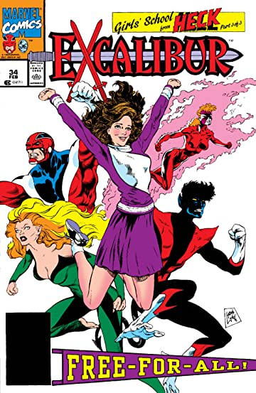 Excalibur (1988-1998) #34