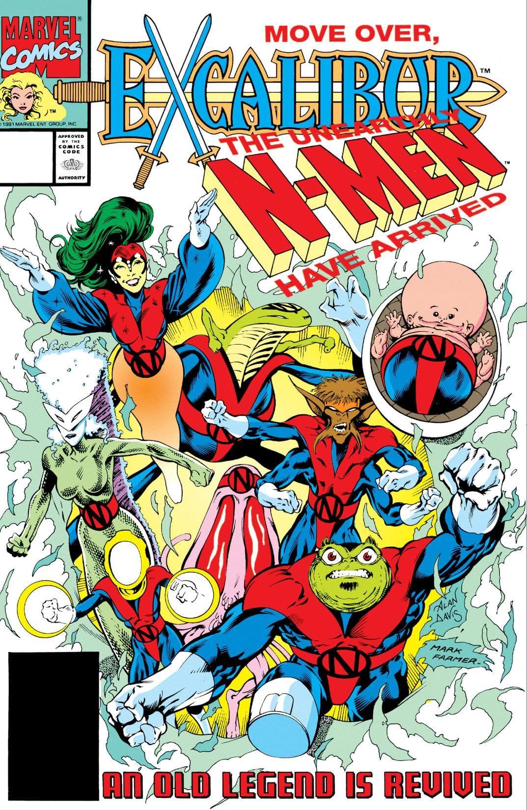 Excalibur (1988-1998) #45