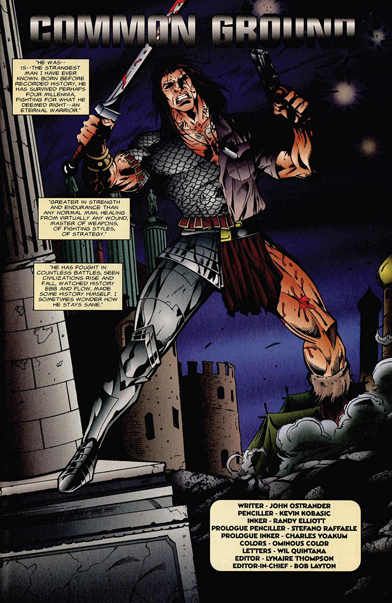 Eternal Warrior (1992-1996) #42