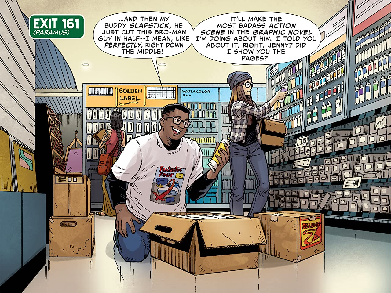 Slapstick Infinite Comic (2016-2017) #3