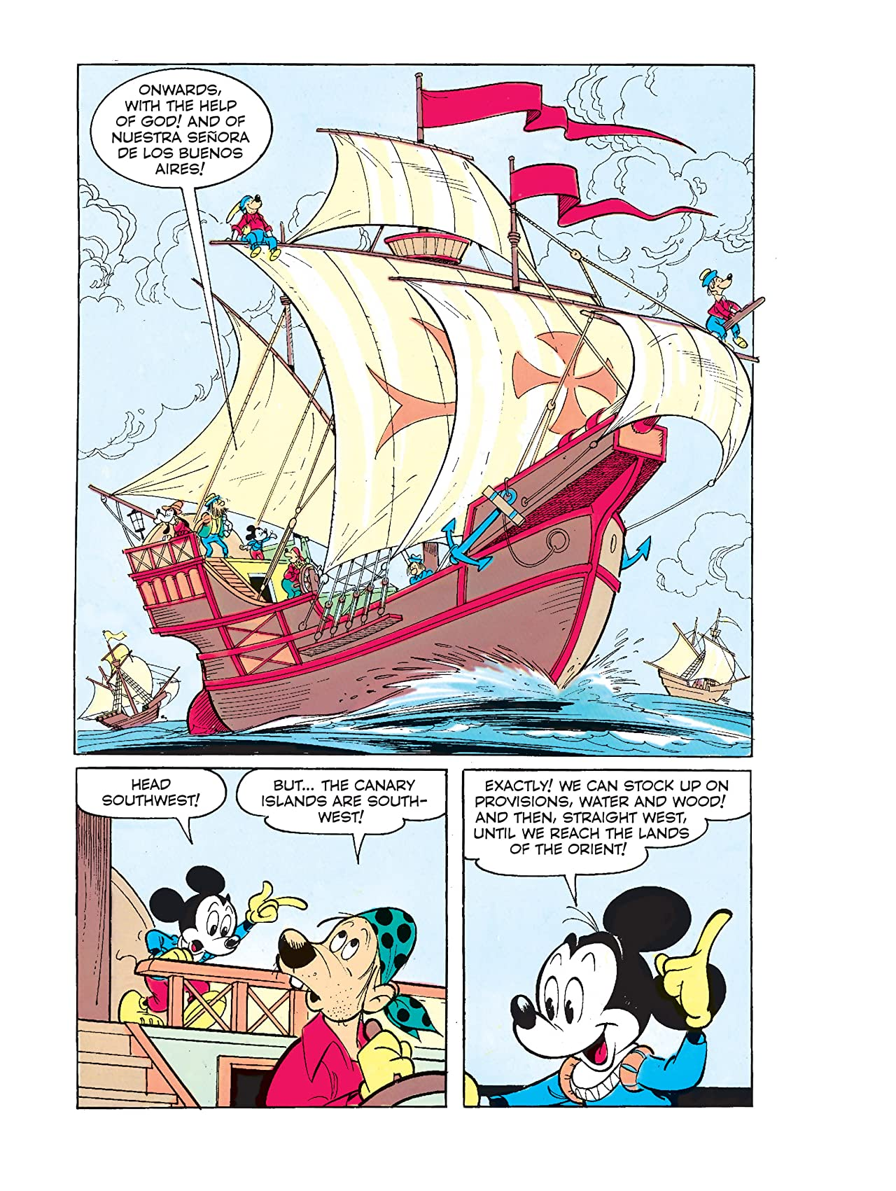 Mickey Mouse Presents: Christopher Columbus #2