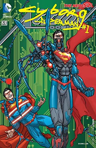 Action Comics (2011-2016) #23.1: Featuring Cyborg Superman