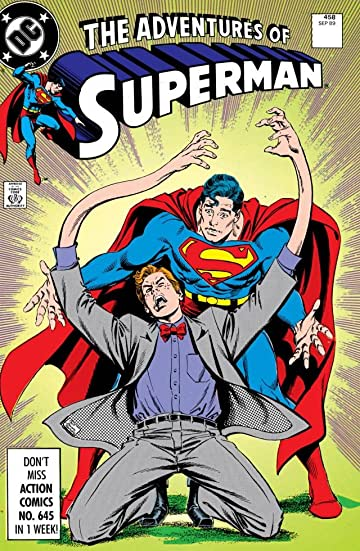 Adventures of Superman (1986-2006) #458