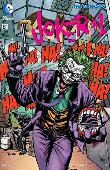 Batman (2011-2016) #23.1: Featuring Joker