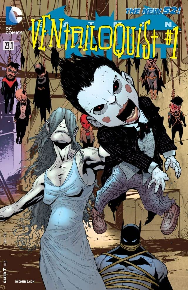 Batman: The Dark Knight (2011-2014) #23.1: Featuring Ventriloquist
