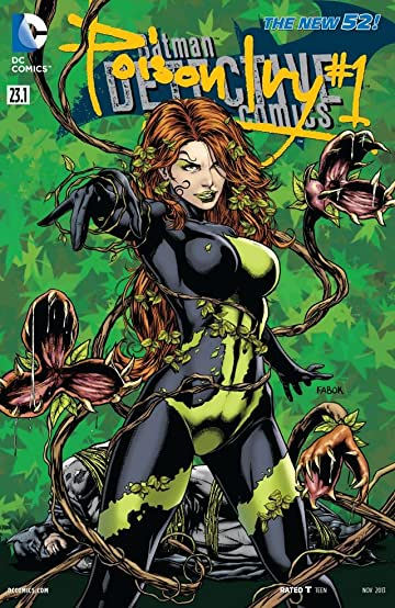 Detective Comics (2011-) #23.1: Featuring Poison Ivy