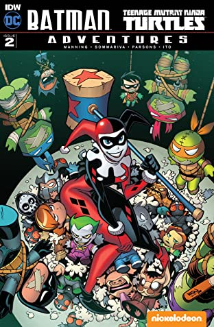 Batman/Teenage Mutant Ninja Turtles Adventures No.2 (sur 6)