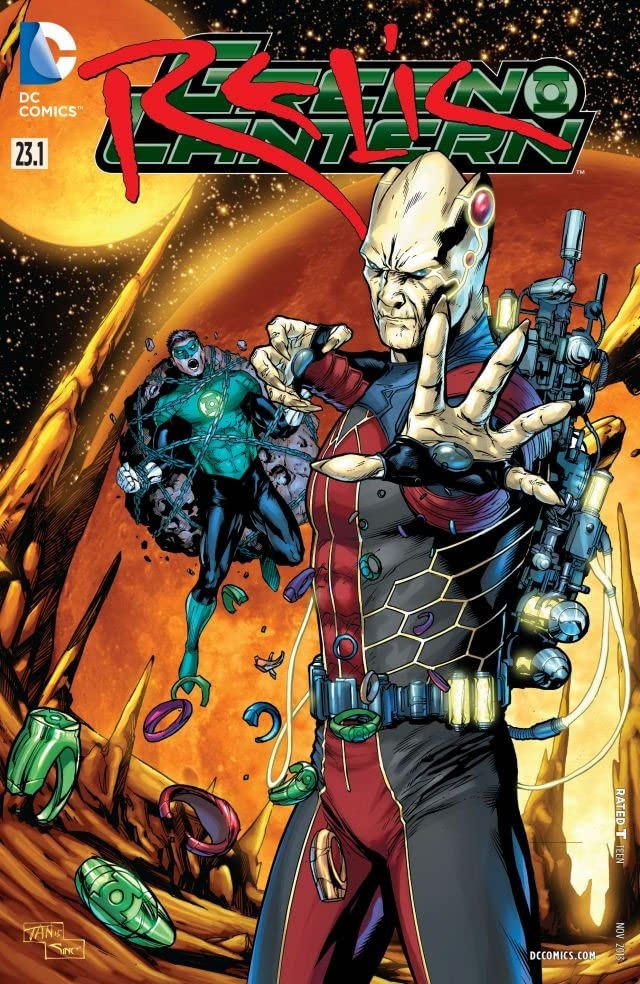 Green Lantern (2011-) #23.1: Featuring Relic