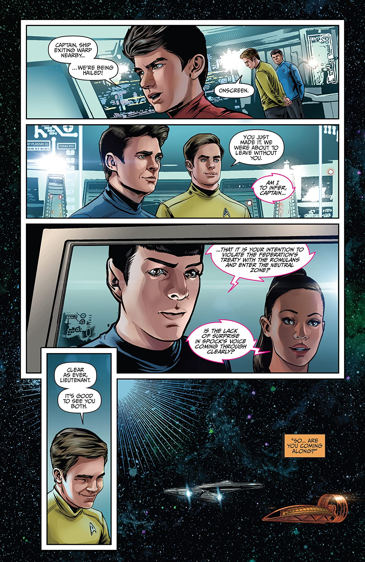 Star Trek: Boldly Go #3