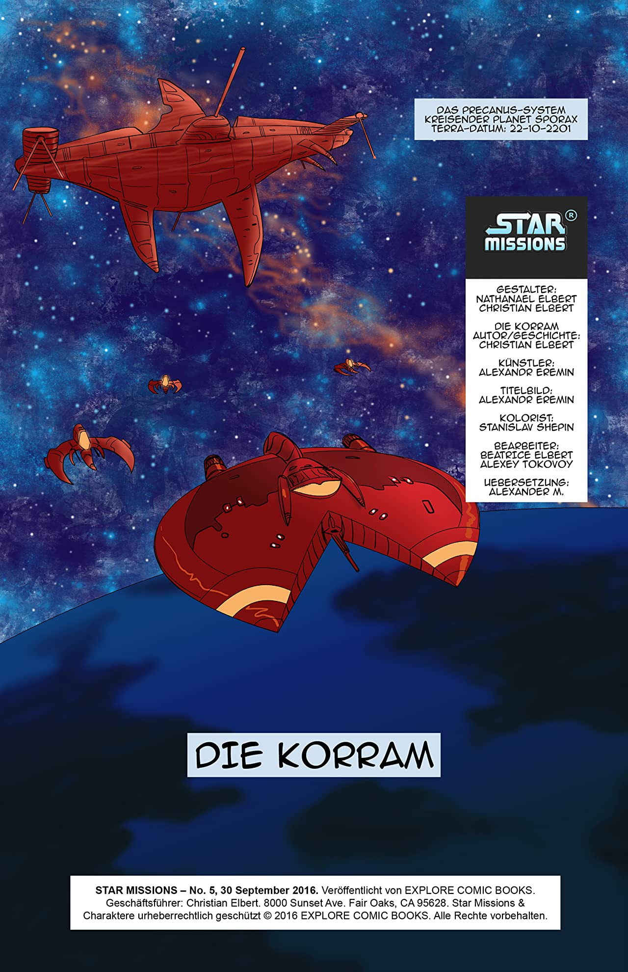 Star Missions - German #5