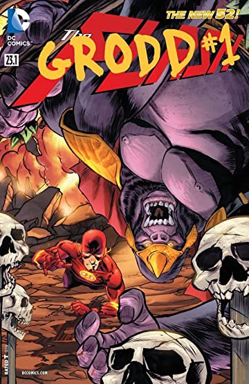 The Flash (2011-2016) #23.1: Featuring Grodd