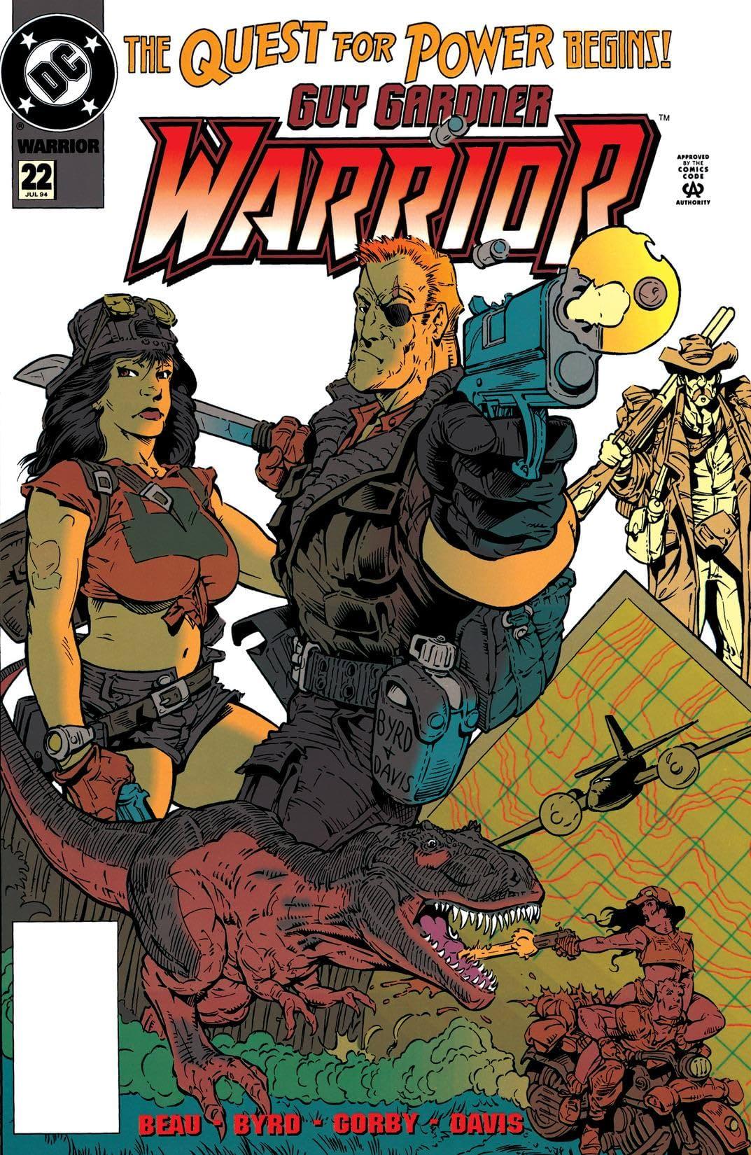 Guy Gardner: Warrior (1992-1996) #22