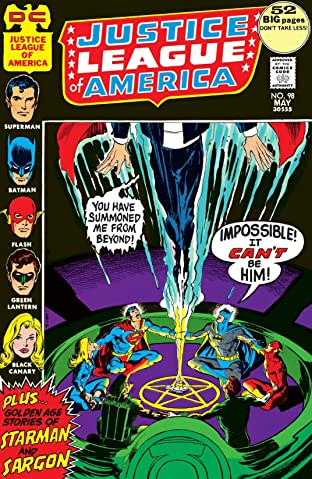 Justice League of America (1960-1987) #98