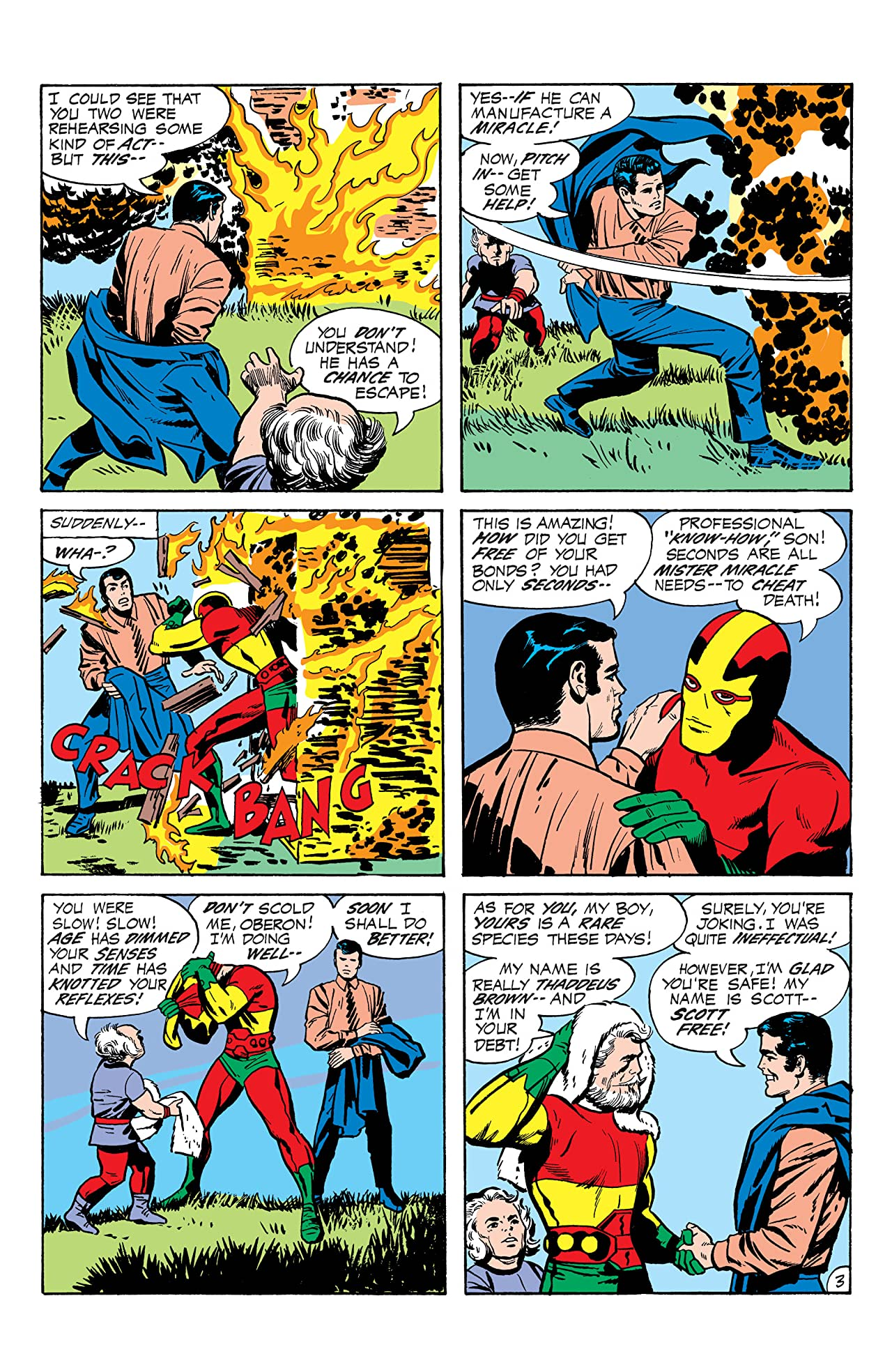 Mister Miracle (1971-1978) #1