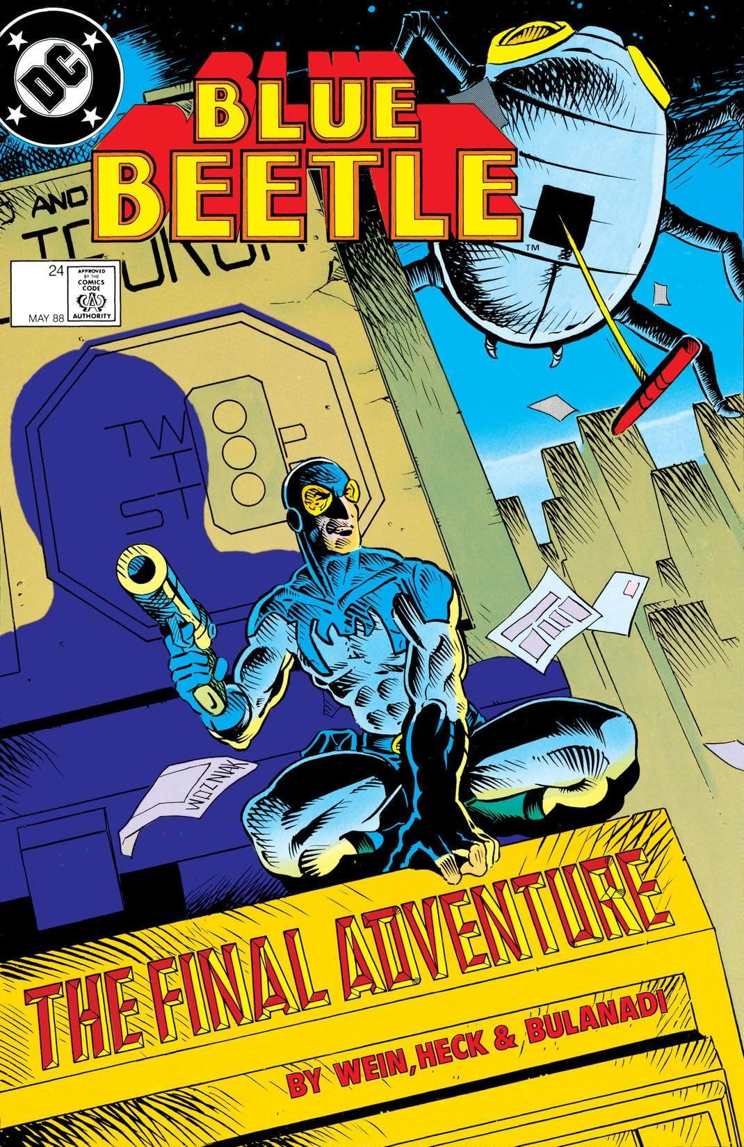Blue Beetle (1986-1988) #24