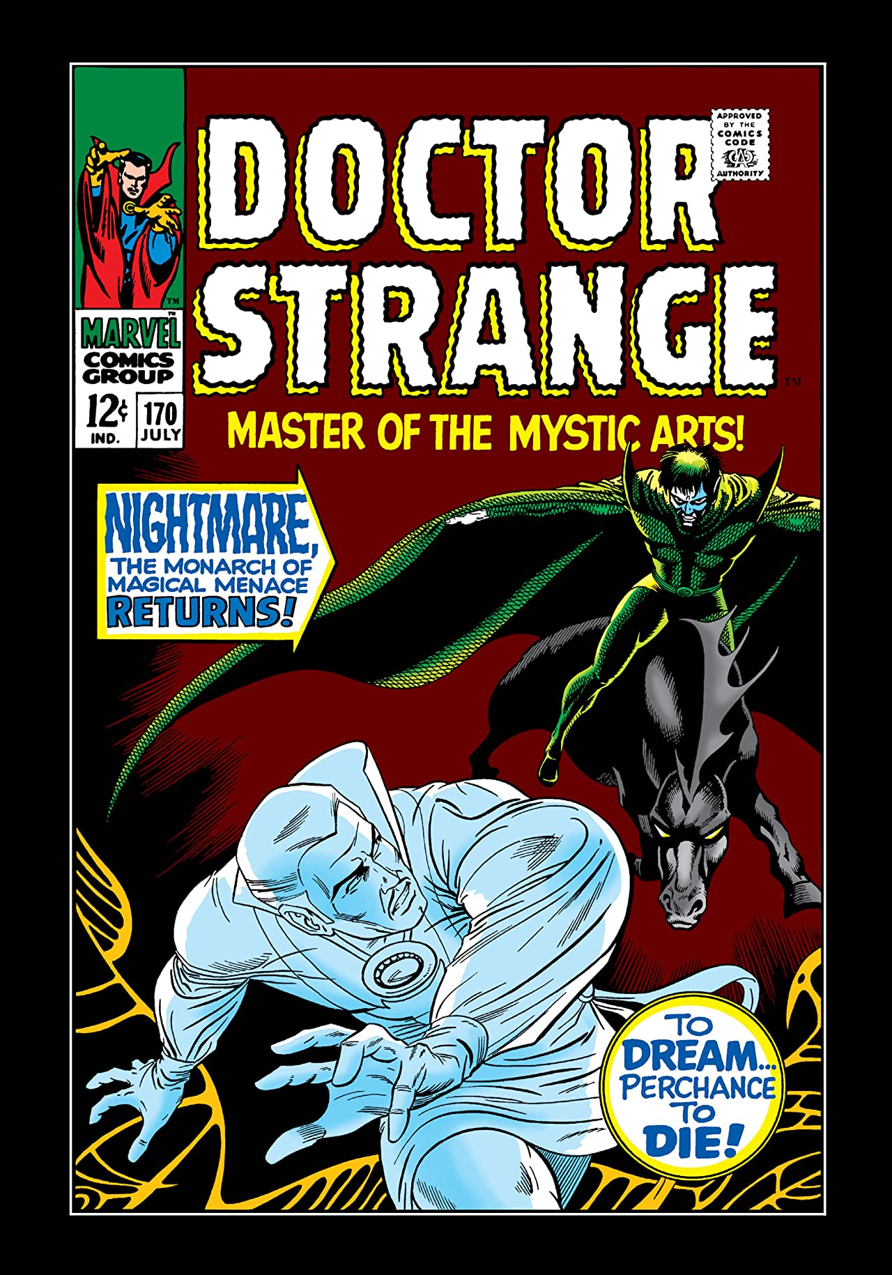 Doctor Strange (1968-1969) #170