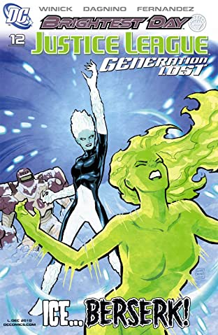 Justice League: Generation Lost #12