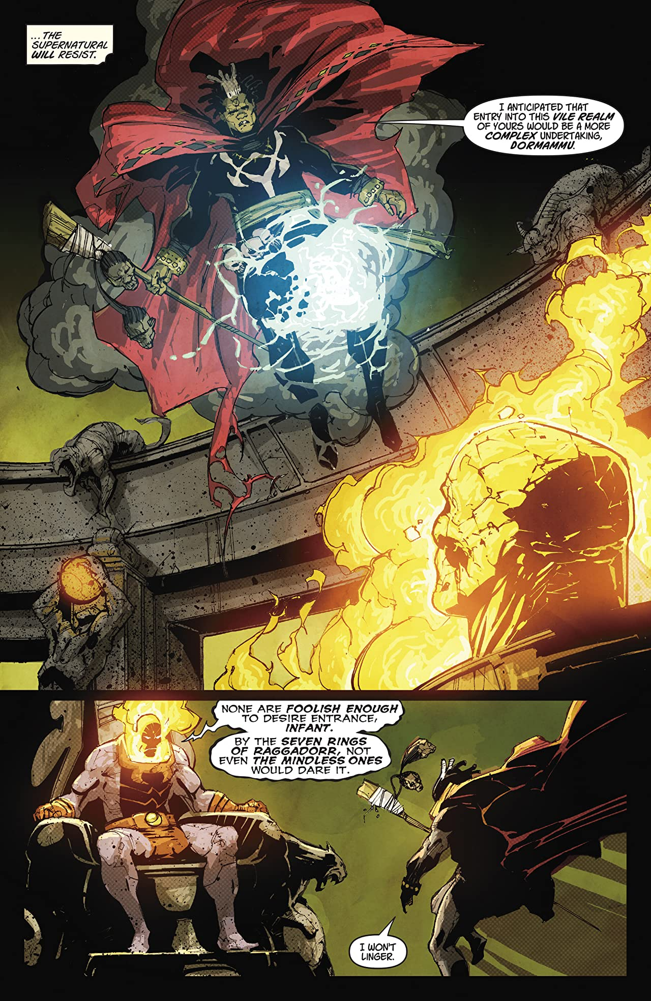 Doctor Voodoo: Avenger of the Supernatural (2009-2010) #1