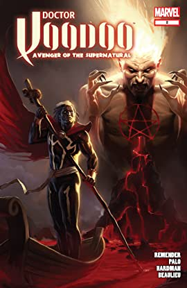 Doctor Voodoo: Avenger of the Supernatural (2009-2010) #2