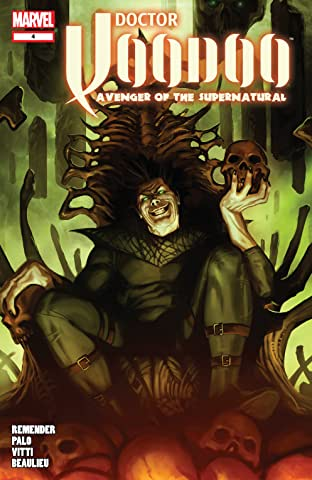 Doctor Voodoo: Avenger of the Supernatural (2009-2010) No.4