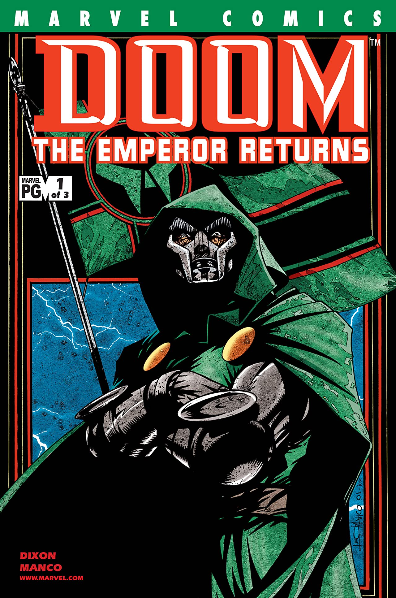 Doom: The Emperor Returns (2001-2002) #1 (of 3)