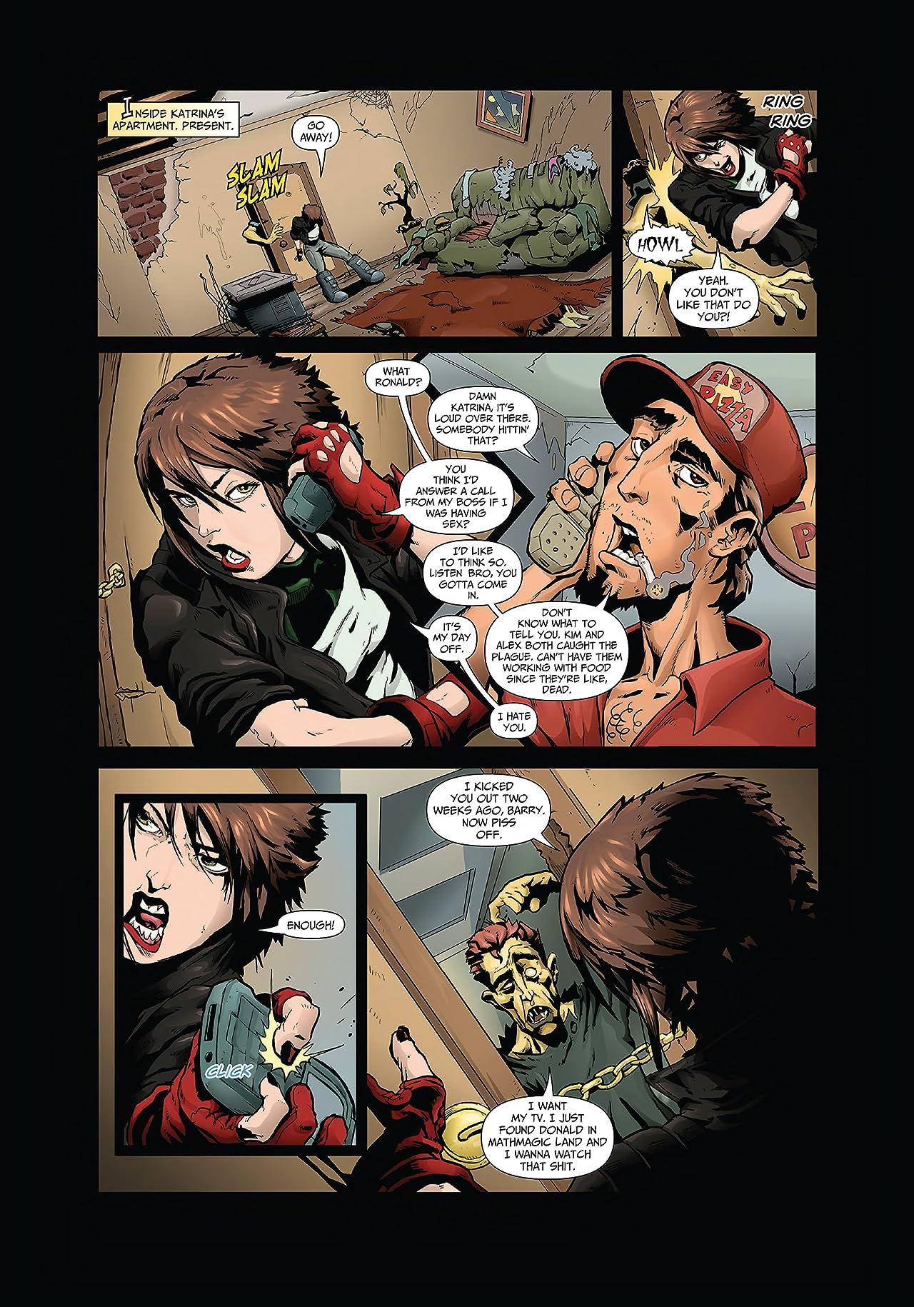 Katrina Hates the Dead #1