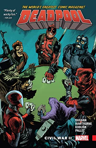 Deadpool: World's Greatest Tome 5: Civil War II