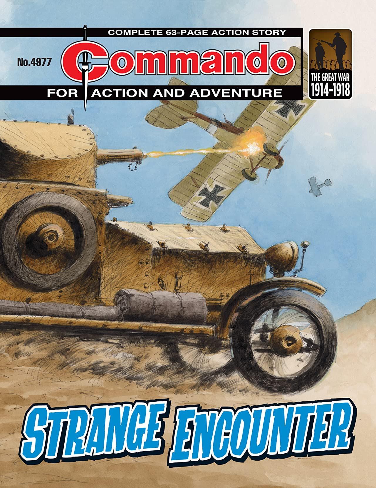 Commando #4977: Strange Encounter
