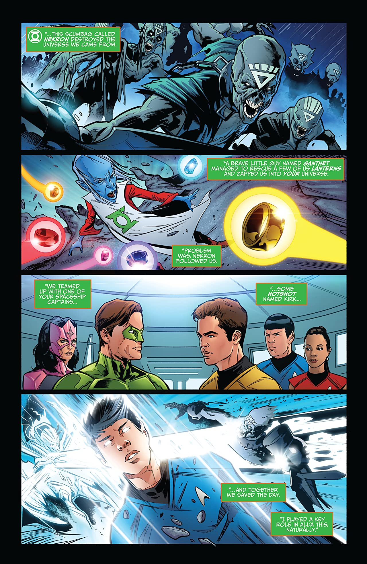 Star Trek/Green Lantern Vol. 2 #1