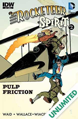 Rocketeer/The Spirit: Pulp Friction! #2 (of 4)