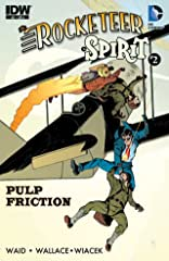 Rocketeer/The Spirit: Pulp Friction! #2