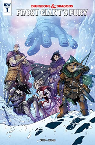 Dungeons & Dragons: Frost Giant's Fury No.1