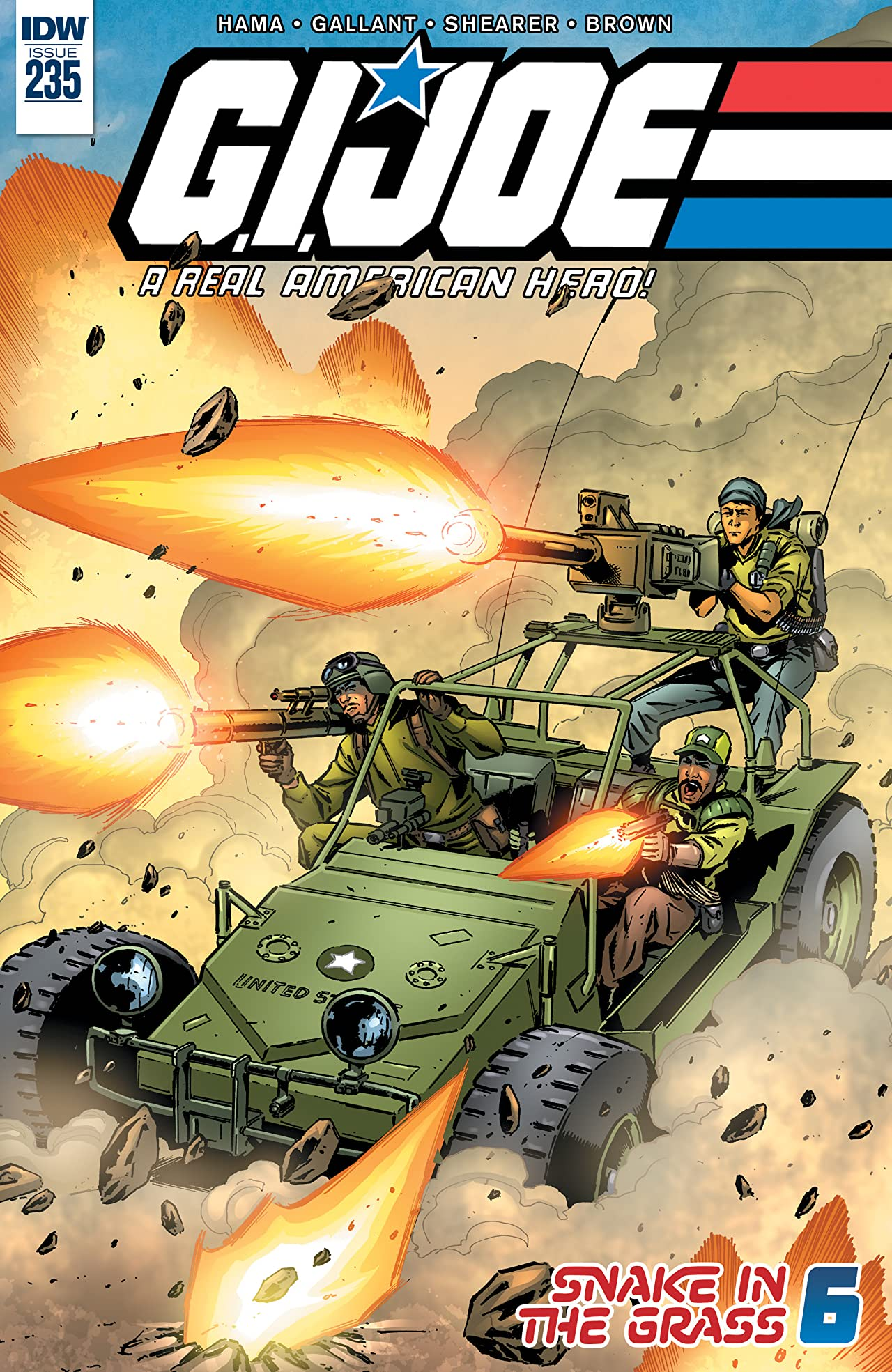 G.I. Joe: A Real American Hero #235