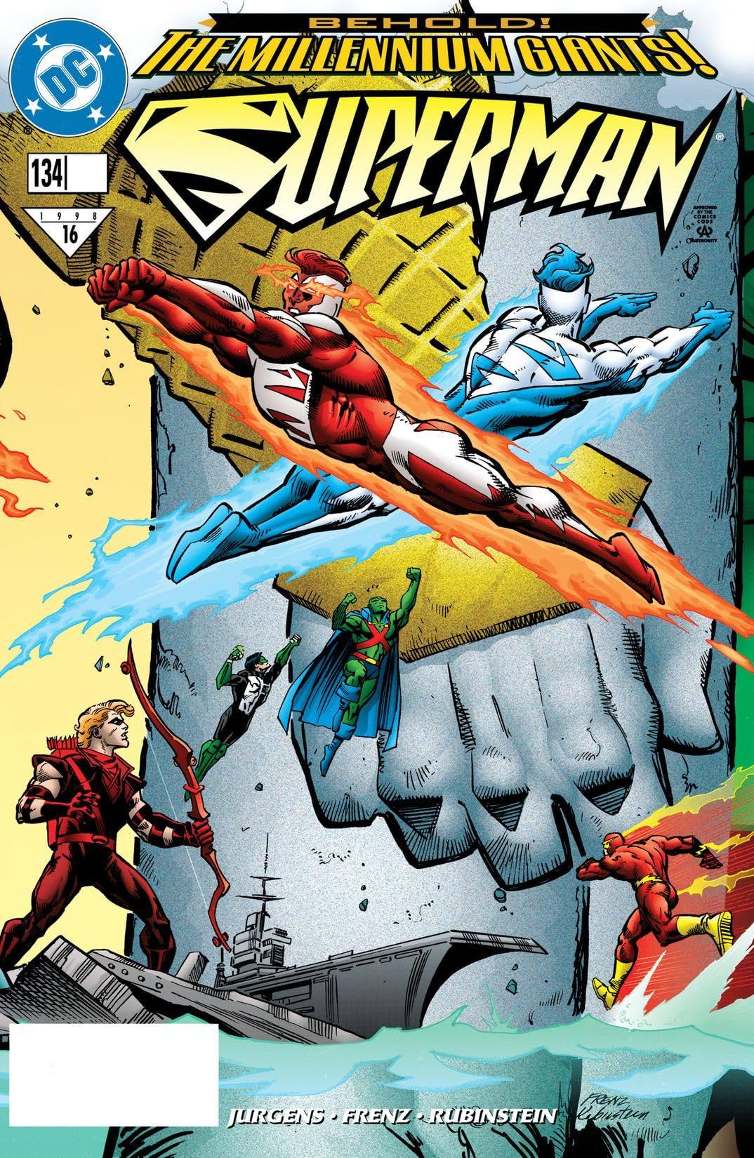 Superman (1987-2006) #134