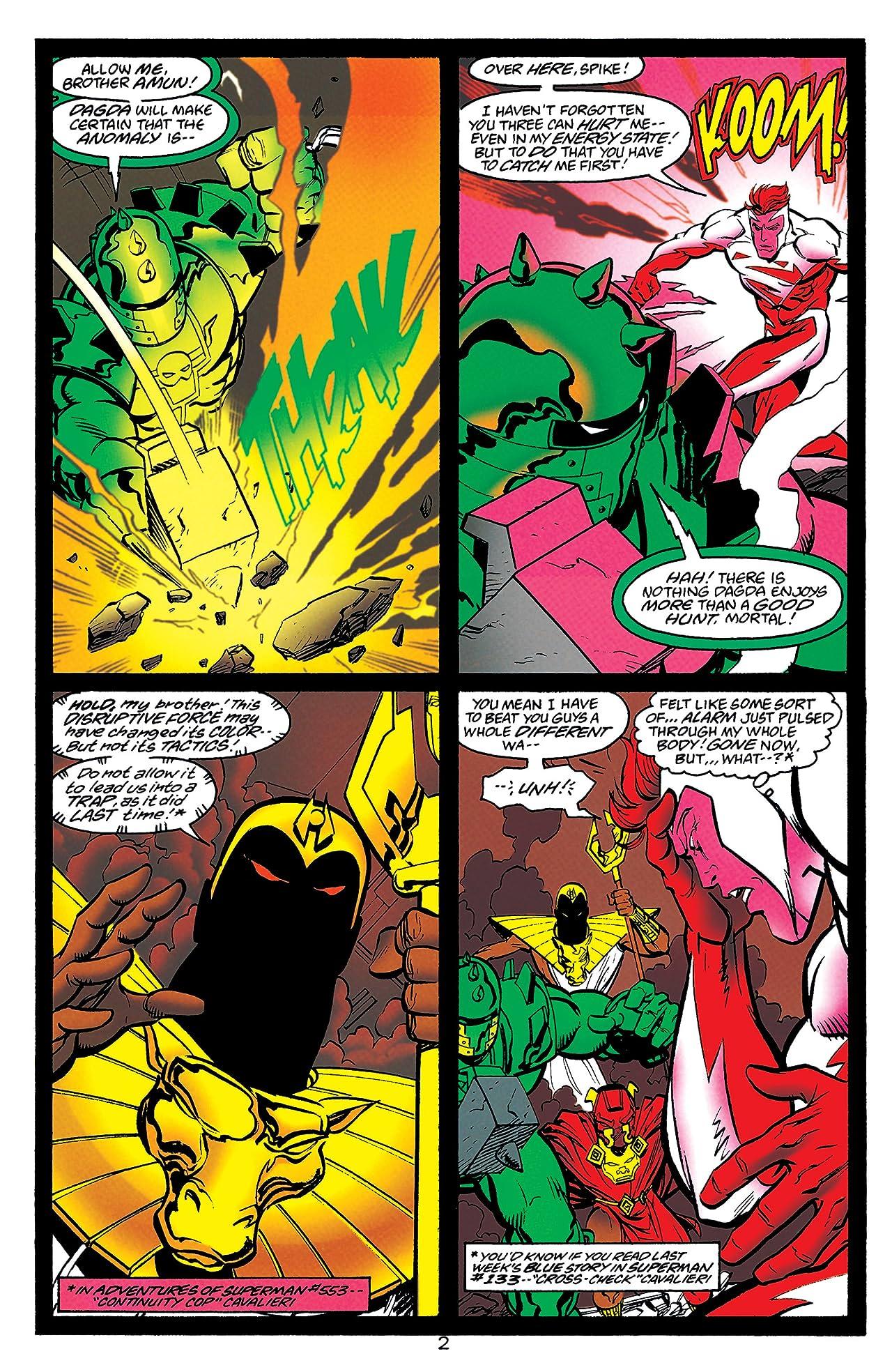 Adventures of Superman (1986-2006) #556