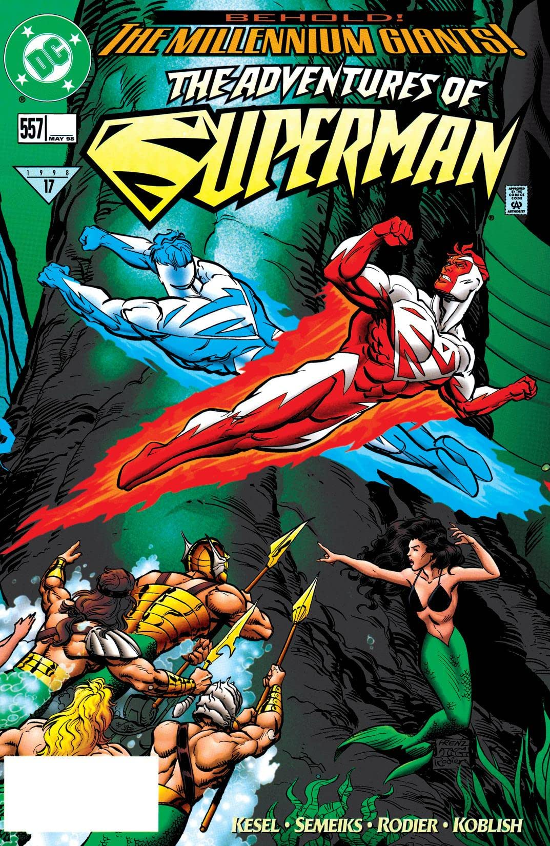 Adventures of Superman (1986-2006) #557
