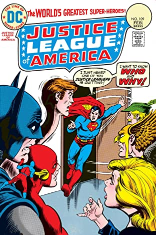 Justice League of America (1960-1987) #109
