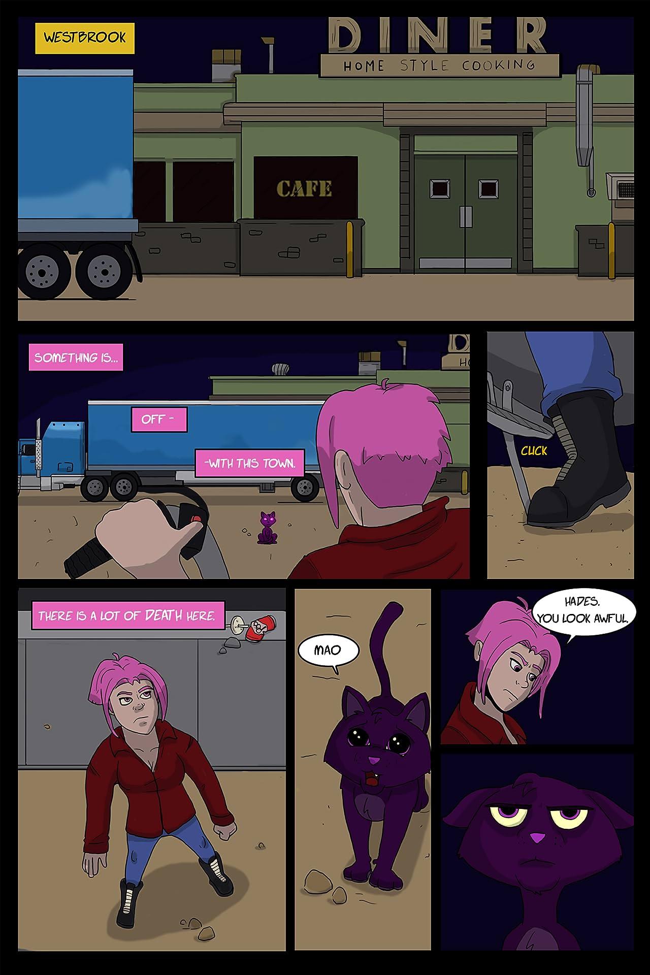 Reaper Girl #1