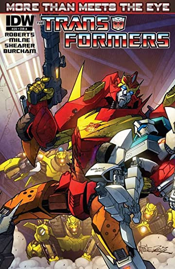 Transformers: More Than Meets the Eye (2011-2016) #20