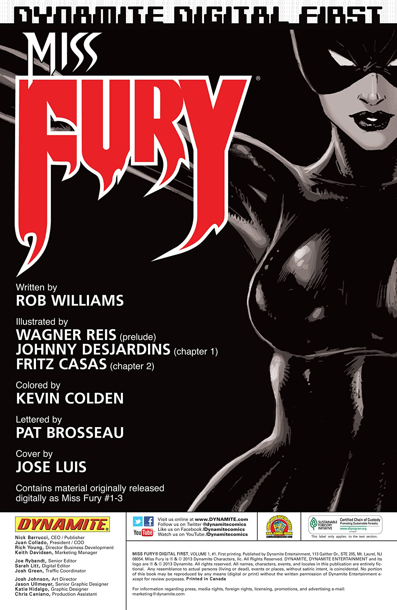 Miss Fury Digital: Into Hades Part 1
