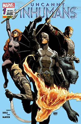 Uncanny Inhumans Vol. 1: Kampf gegen die Zeit