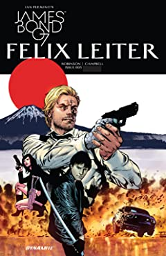 James Bond: Felix Leiter (2017) #3 (of 6)