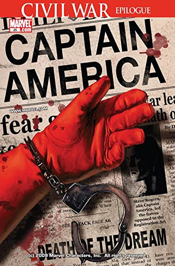 Captain America (2004-2011) No.25